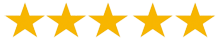 five star google review rating